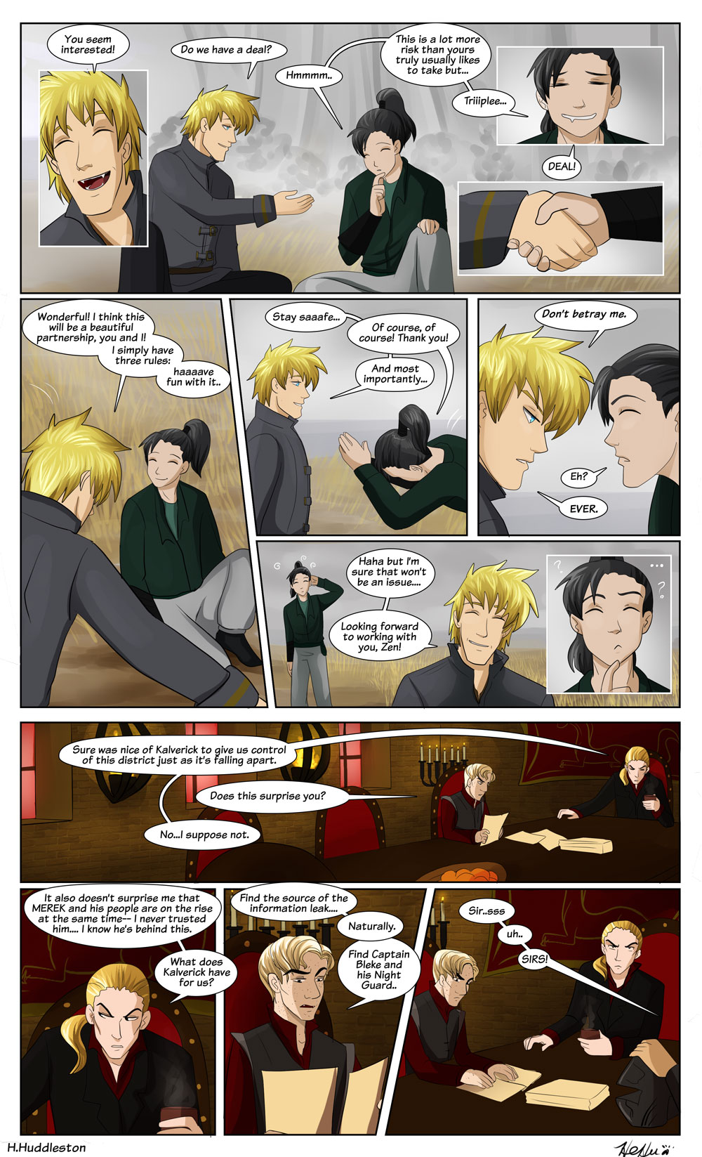 Chapter 6.6-- Betray Not