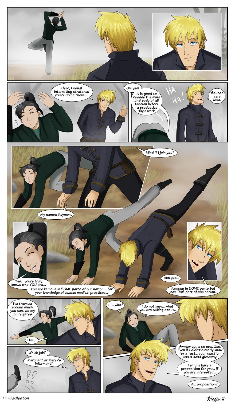 Chapter 6.4-- Keymen Meet Zen