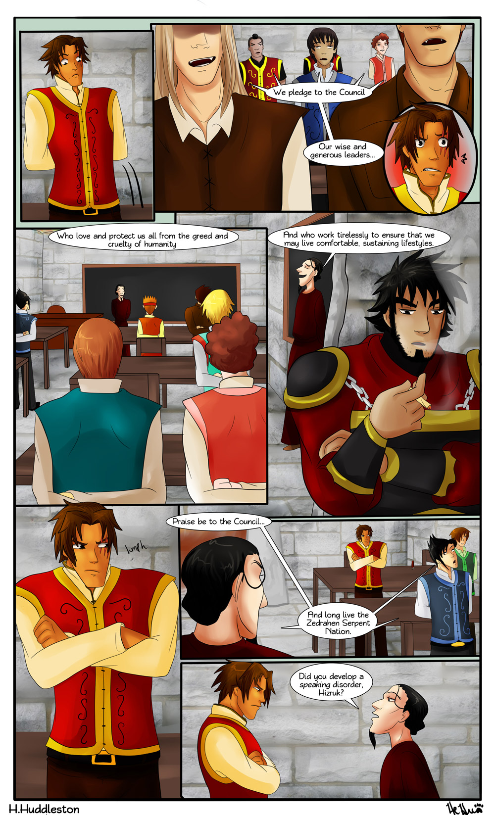Chapter 2.17-- The Pledge