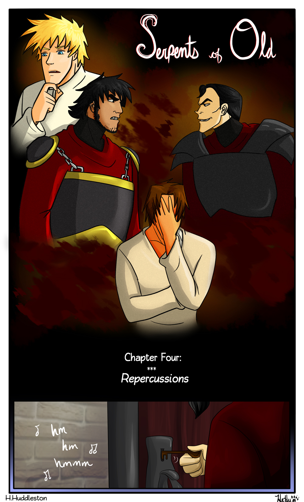 Chapter 4: Repercussions (Cover)